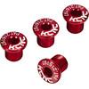 KCNC Kettenblattschrauben 4 Stück rot